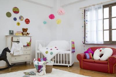 赤ちゃんとわたしのお部屋づくり~シンプル&ポップ 大人かわいいベビーシリーズ【garnet】~